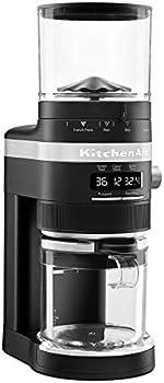 KitchenAid KCG8433BM Burr Coffee Grinder, 10 oz