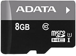 ADATA Premier microSDHCカード 8GB Class10 UHS-I AUSDH8GUICL10-RA1