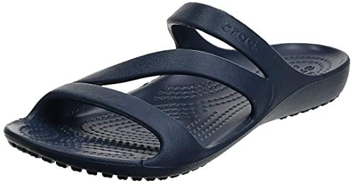 Crocs Women's Kadee II Sandals, Navy, 6