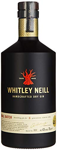 Whitley Neill London Dry Gin (1 x 0.7 l)