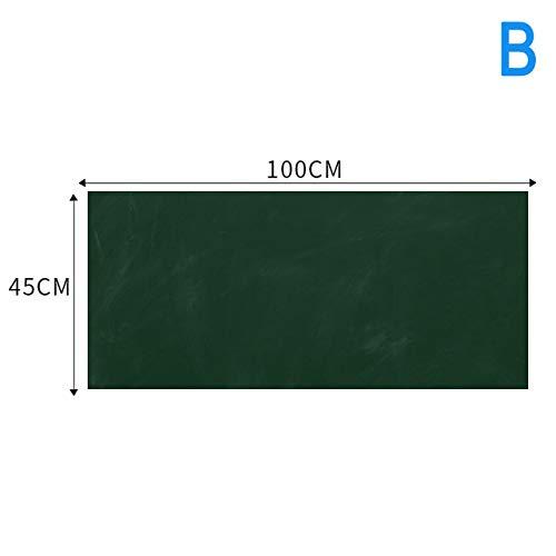 ERKDH Erase Whiteboard Sticker Wall Decal Autoadesivo White Board Peel Stick Paper for School, b