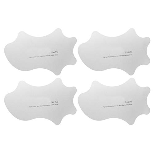 4Pcs Large Stainless Steel Pry Spudger Set High Strength Ultra‑Thin Electronics Opening Tool for Cell Phone