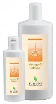 Schupp Massage - Öl Orange 1l, orange