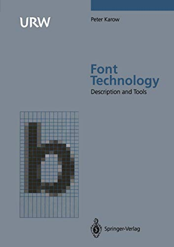 Font Technology: Methods and Tools