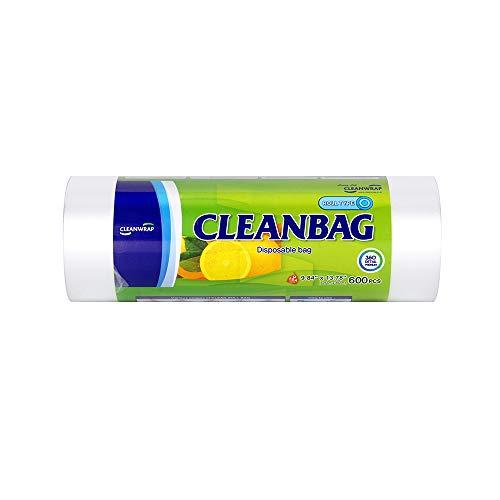"Food storage ROLL BAG 9.84"" 13.78""600pcs, DPE, BPA FREE, Clean Bag, Food handing, Safe, Roll bag, Plastic bag food, Whole produce bag, food grade plastic bag"