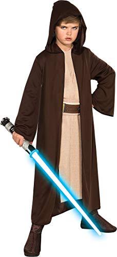 Rubies Star Wars Classic Child's Hooded Jedi Robe, Small
