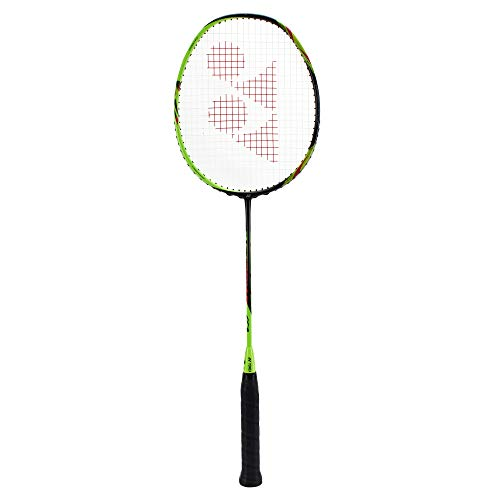 Yonex Astrox 6 Graphite Strung Badminton Racquet (Black/Lime)