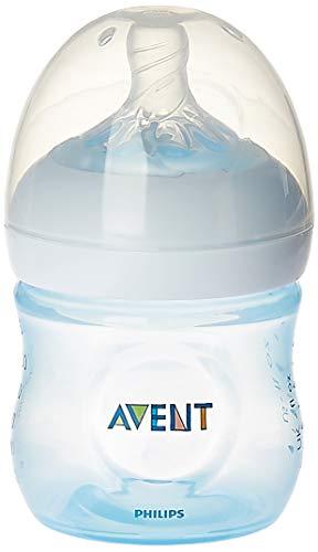 Mamadeira Pétala, Philips Avent, Azul, 125 ml