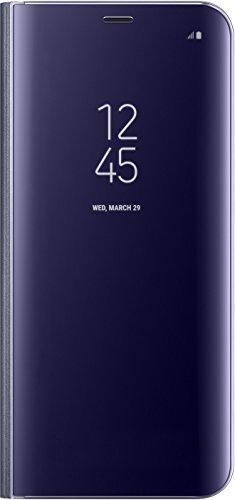 Samsung EF-ZG955CVEGWW Clear View Standing Cover (geeignet für Samsung Galaxy S8+) violett