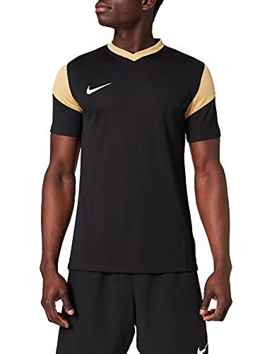 NIKE Park Derby III - Camiseta de Manga Corta para Hombre Nero/Maglia Oro/Maglia Oro/Bianco XXL