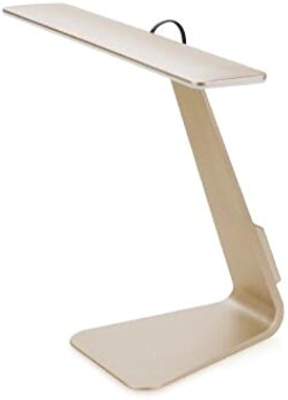 Cww Aufladungstischlampe Art Und Weiseart Ultradünne LED-Tischlampe Apple-Art Tischplattenaugenschutztischlampe LED-Tischlampe,Gold
