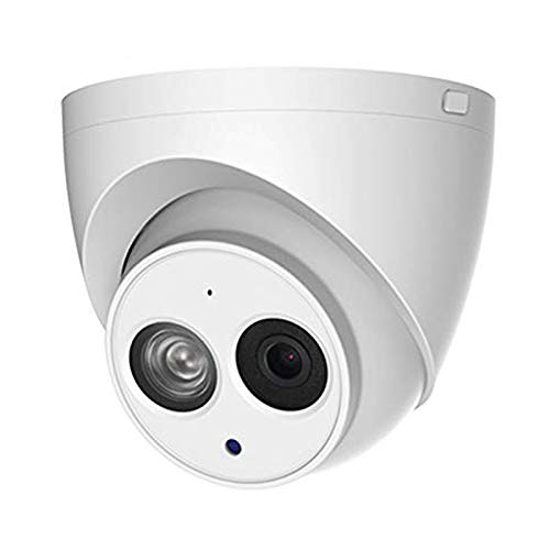 4MP Outdoor PoE IP Camera OEM IPC-HDW4433C-A 2.8mm, Dome Security Camera with Audio, Built-in Mic, IR 164ft Night Vision, Smart H.265 WDR 3D DNR, IVS, IP67
