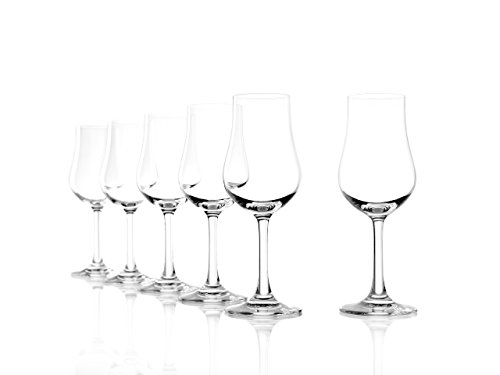 Stölzle Lausitz Destillatglas Classic 185ml, 6er Set, spülmaschinenfest, Whiskeyglas