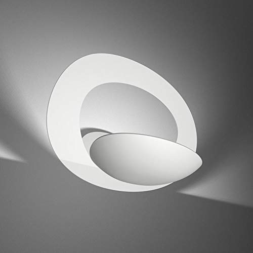 PIRCE Mikro-Wandleuchte, LED, 22 cm, Weiß Artemide, Design von Giuseppe Maurizio Scutellà
