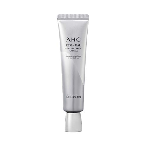 AHC Face Moisturizer Essential Eye Cream for Face Anti-Aging Hydrating Korean Skincare 1.01 oz