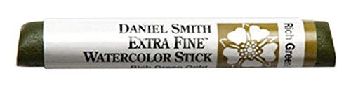 DANIEL SMITH Extra Fine Watercolor Stick 12ml Paint Tube, Rich Green Gold