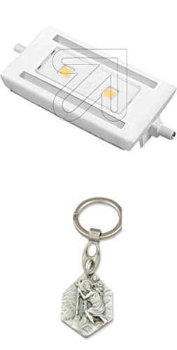 Megaman LED R7s 118mm 9W/828 MM49012 mit Anhänger Hlg. Christophorus