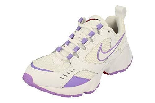 Nike Damen-Laufschuhe, Weiß (Weiß/Weiß/Noble Red), 40.5 EU