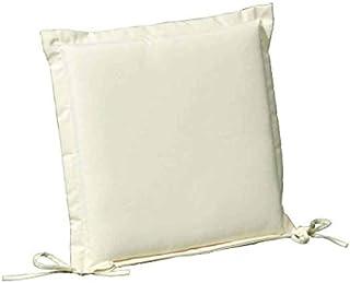 PAPILLON 8097000 Cojín para Silla 43x43x5 cm. Beige Desenfundable