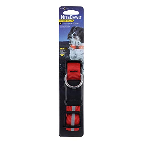 Nite Ize Nite Dawg Collier pour Chien LED Petit Red