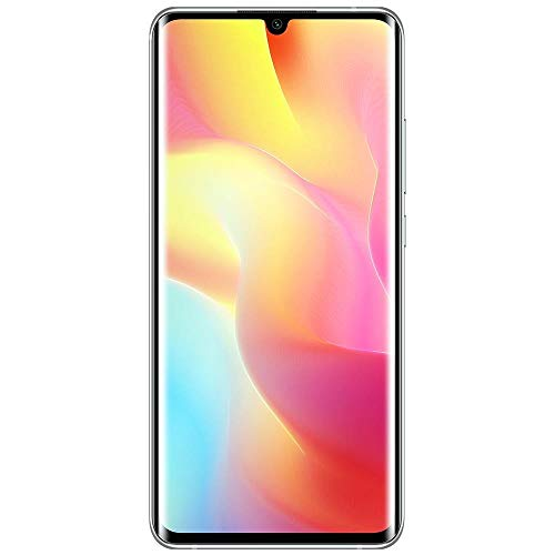 Xiaomi Mi Note 10 Lite Smartphone - 6.47″ 3D curved AMOLED Display RAM 6GB ROM 128GB AI Quad telecamera 5260 mAh typ NFC Bianco [Versione globale]