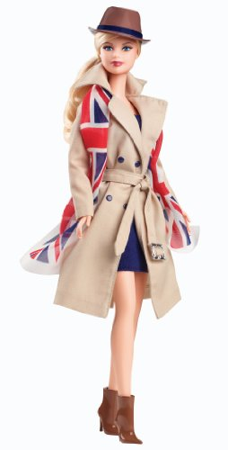 Barbie Collector Dolls of the World United Kingdom pink label (X8426)