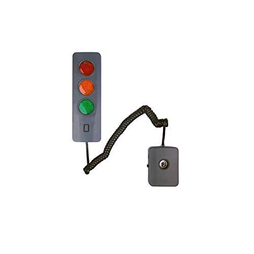 Garage Parkplatz Sensor - Parkplatz Zeichen LED-Licht, Garage Parkplatz Licht, Einparkhilfe, Geeignet Für Jede Garage Und Fahrerin (Ohne Batterie)