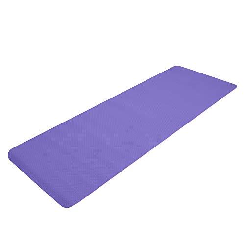 MAXCOO - Esterilla de yoga antideslizante de TPE de 6 mm de grosor (183 x 61 x 6 cm)