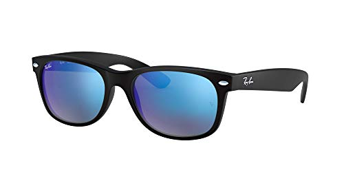 Ray-Ban RB2132 - NEW WAYFARER - 55, RB2132 - NEW WAYFARER 622/17 RUBBER BLACK, NORMAL, CABALLERO