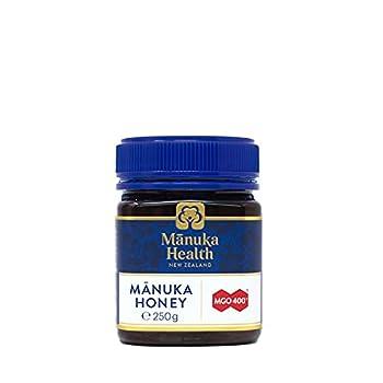 Manuka Health - MGO 400+ Manuka Honey 100% Pure New Zealand Honey 8.8 Ounce