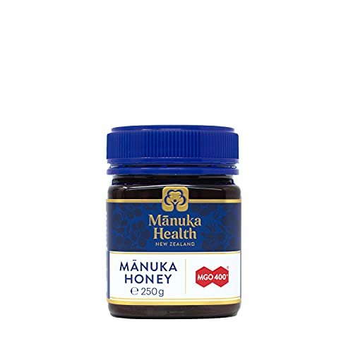Manuka Health - MGO 400+ Manuka Honey, 100% Pure New Zealand Honey, 8.8 Ounce