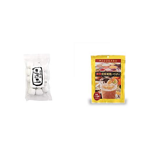 [2点セット] きなこ玉(160g)・醗酵焙煎雑穀パウダー MISUKARU(ミスカル)(200g)