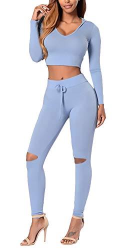 Sportkläder träningsoverall sweatshirt beskära luvtröja esstilo enkla huvtröjor pullover sweatshirts toppbyxor leggings sportleggings höstrea 2 delar två delar sport fitness