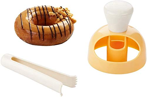 Molde para rosquillas, plástico creativo, máquina para hacer rosquillas, herramienta para hornear, hornear