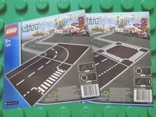 LEGO City 7280 and 7281 - Road Base Plates (4 Plates in total) by LEGO [Toy] (English Manual)