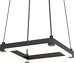 Sonneman 2785-25 9`` LED Pendant from The Stix Square Collection
