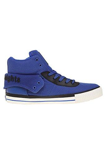 British Knights Tenis Tipo Bota ROCO Azul Botin para Hombre Azul Talla 27