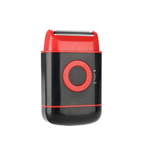 Afeitadora eléctrica para hombres, afeitadora de lámina húmeda y seca, limpia y...
