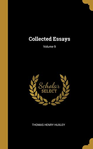 Collected Essays; Volume 9