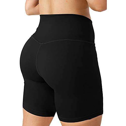 URIBAKY - Pantalones de yoga para mujer, estilo hip-Lifting Negro M