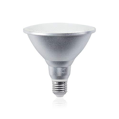 PAR38 LED Lampe 15W E27 Reflektorlampe 220V Warmweiß 3000K YW Licht Strahler Leuchte Wasserdicht IP65 120° Abstrahlwinkel Ersatz für 150W herkömmliche Glühbirne(1Stück, Nicht Dimmbar)