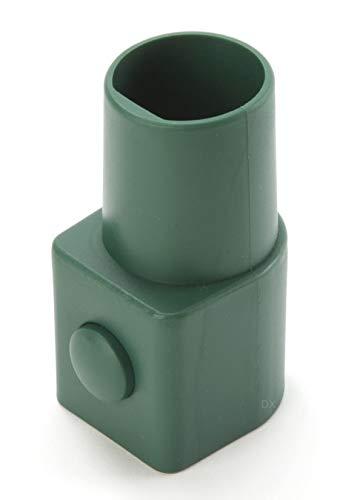 DREHFLEX - ZVW-113 - Adapter für Vorwerk von Wappenanschluss auf rund 35mm / passend für Kobold 118, 119, 120, 121, 122 und Tiger 250, 252 - alternativ