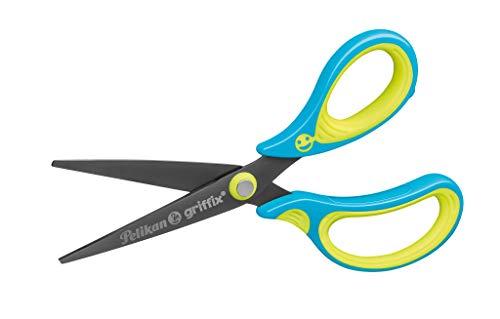 Schulschere Griffix spitz, für Rechtshänder, Neon Fresh BLUE, 1 Stück