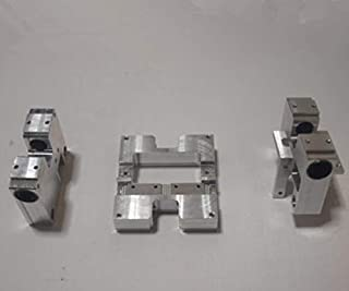 Xligo All Metal DIY FlashForge CTC MBot3D Wanhao Replicator 3D Printer LM10uu Aluminum X-axis Carriage +Y-Axis Assembly Upgrade kit