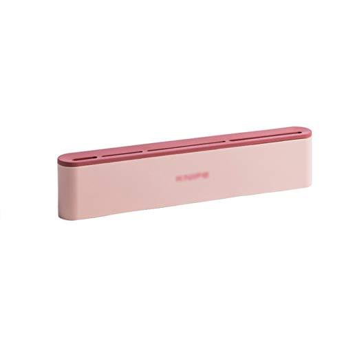 Porte-Couteaux Vide Porte-couteau for mur, économie d'espace couteau Accueil rack Organisateur outil Blocs couteaux (Color : Pink)