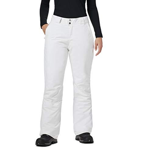 Columbia Damen On The Slope II Pant Ski-Hose, Weiß (White), XL/R