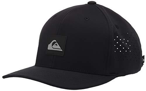 Quiksilver Herren ADAPTED HAT Baseball Cap, schwarz, Einheitsgröße