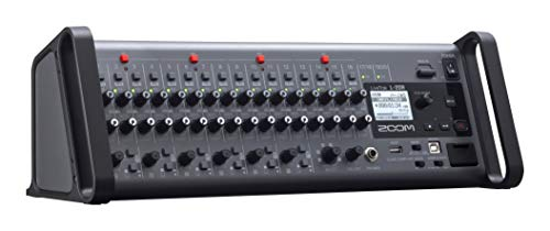 Zoom LiveTrak L-20R Digital Mixer & Multitrack Recorder, Rack Mountable, 20-Input/ 22-Channel SD Card Recorder, 22-in/4-out USB Audio Interface, 6 Customizable Outputs, Wireless iOS Control