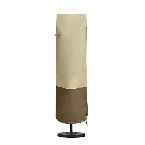 Cubierta para sombrilla de patio, cubierta de sombrilla para exteriores, resistente, 600D, tela Oxford, cubierta protectora para sombrilla de patio, fundas impermeables para sombrillas de mercado,