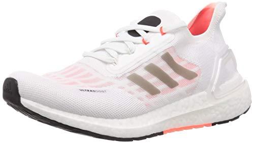 adidas Ultraboost S.RDY W, Zapatillas de Running Mujer, FTWR White/Core Black/Solar Red, 44 EU